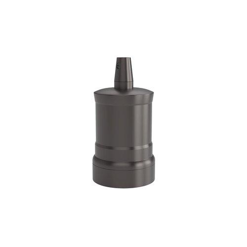 Calex Lamphouder Aluminium lamphouder, piek model M-035, mat parel zwart