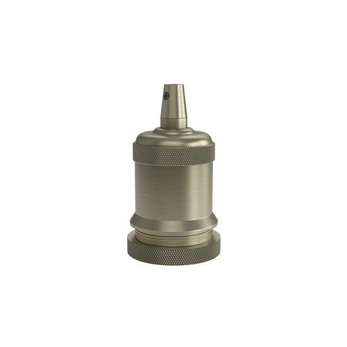 Calex Lamphouder Aluminium lamphouder, piek model M-003, mat brons