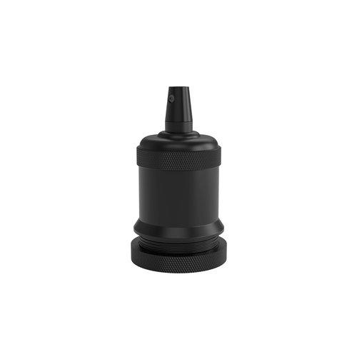 Calex Lamphouder Aluminium lamphouder, piek model M-003, mat zwart