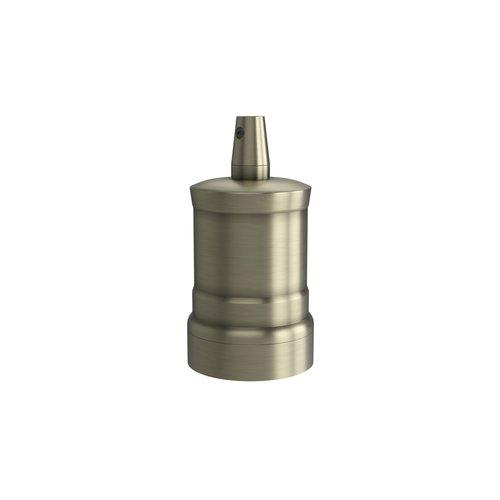 Calex Lamphouder Aluminium lamphouder, piek model M-035, mat brons