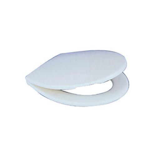 Plieger Start toiletzitting met deksel thermoplast wit