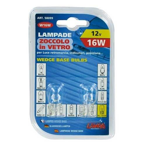 Lampa W16W lamp 12V 16W