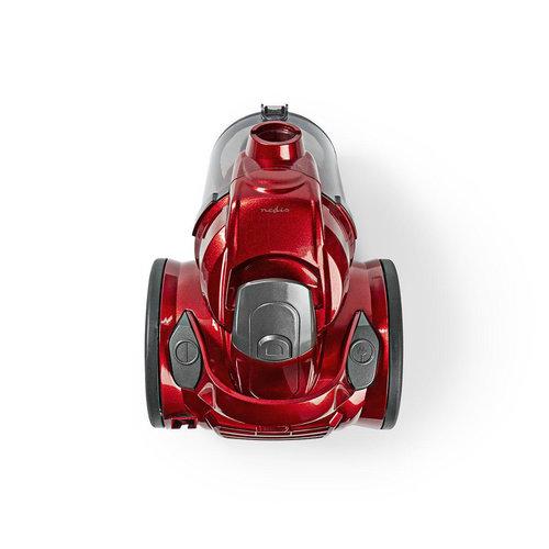 nedis Stofzuiger | zonder Zak | 700 W | 1,5 L Inhoud | Rood