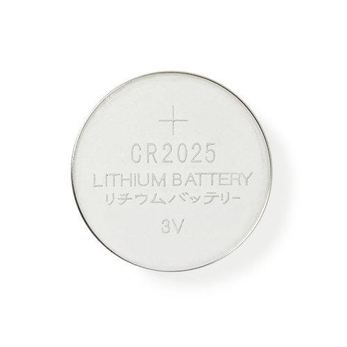 nedis Lithium knoopcel-batterij CR2025 / 3 V / 5 stuks / Blister