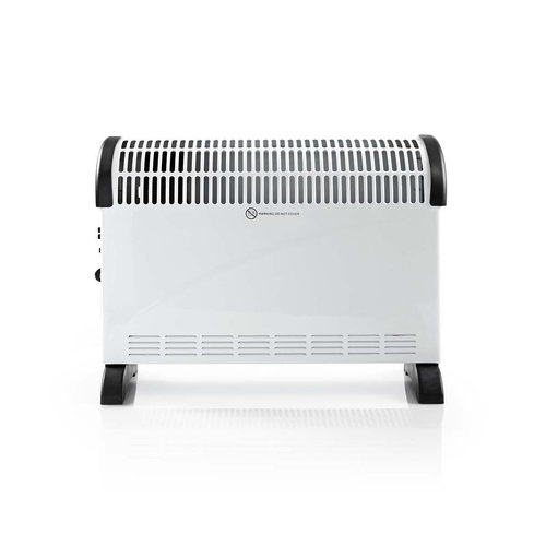 nedis Convectieverwarming | 750/1250/2000 W | Turbo | Wit