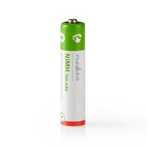 nedis Oplaadbare NiMH batterij AAA / 1,2 V / 700 mAh / 2 stuks / Blister
