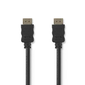 nedis High Speed HDMI -kabel met Ethernet / HDMI -connector - HDMI -connector / 3,0 m / Zwart