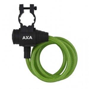 Axa AXA Zipp kabelslot groen 120cm