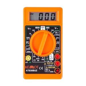 kemot Multimeter Digitaal 06-1269 / Kt830Buz