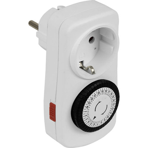 Promax Schakelklok 16A 230V 3500W RA 48 schakelmomenten per 30min