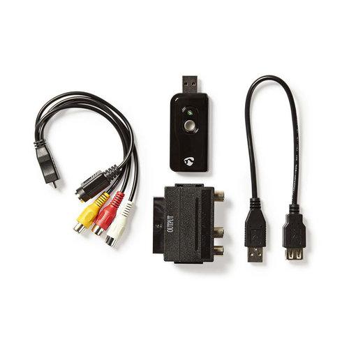 nedis Video-grabber / A/V-kabel / scart / Inclusief software / USB 2.0
