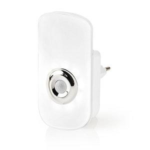 nedis Plug-In LED Nachtlamp met Stekker en Zaklamp | Dag/Nachtsensor | Bewegingssensor