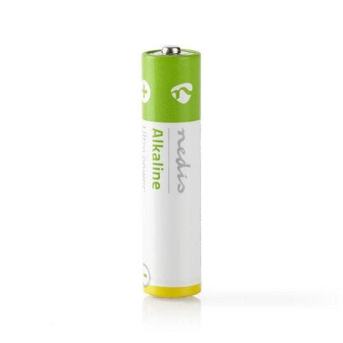 nedis Alkaline batterij AAA / 1,5 V / 4 stuks / Blister