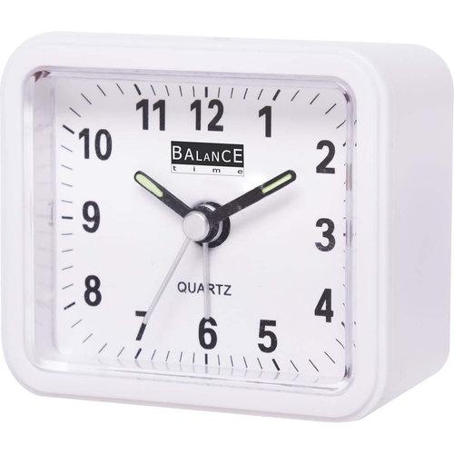 nedis Balance | Alarm Clock | Analogue | White