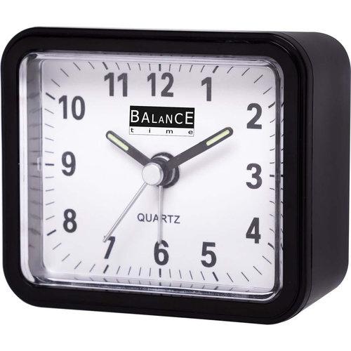 nedis Balance | Alarm Clock | Analogue | Black
