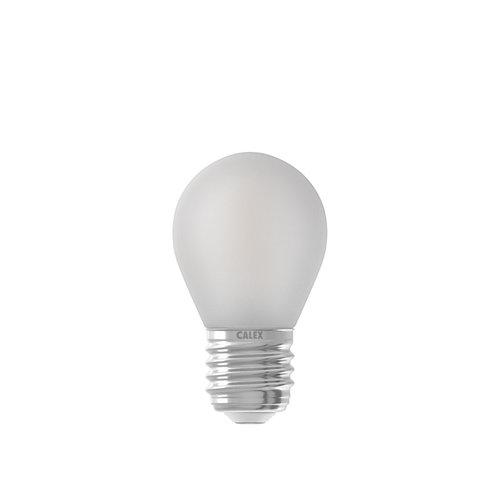 Calex 474488 Ledlamp  E27 300LM Volglas  Kogellamp Mat Dimbaar