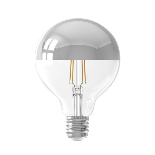Calex Ledlamp LED volglas Filament Kopspiegel