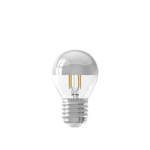 Calex 425127 Ledlamp LED volglas Filament Kopspiegel