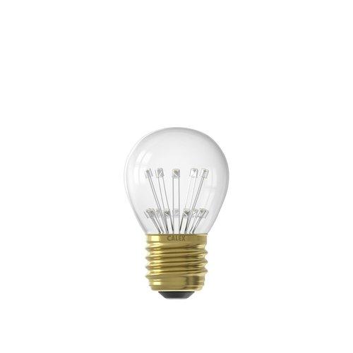 Calex Ledlamp Pearl LED 240V 1 Watt 70 Lumen 2100k