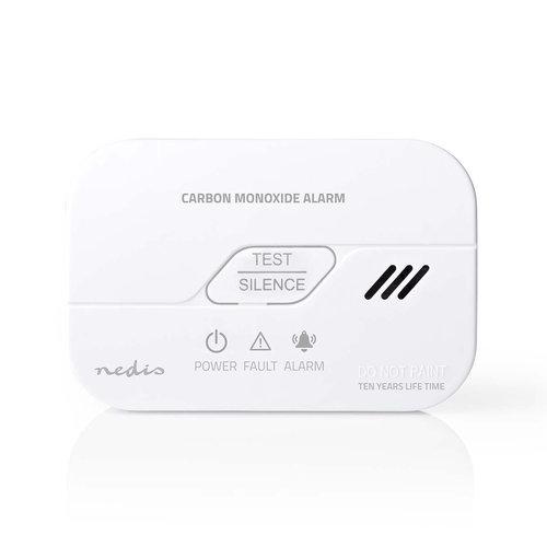 nedis Koolmonoxidemelder | Batterij Bijna Leeg Signaal | Levensduur Sensor 10 Jaar