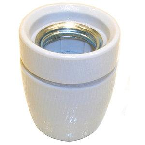 Kopp Lamphouder Fitting E27 Porselein 3/8 Groot Gat
