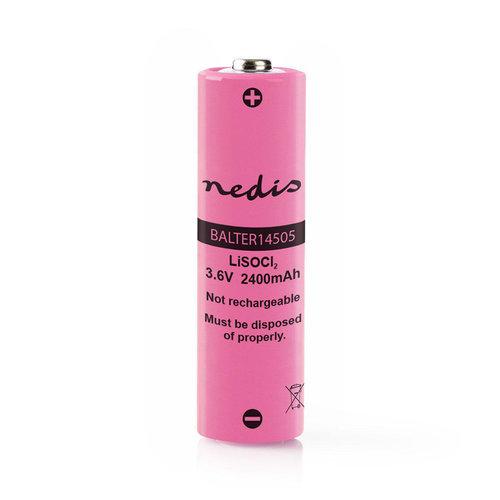 nedis Lithium-Thionyl-Chloridebatterij ER14505 / 3,6 V / 2400 mAh
