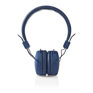 nedis Draadloze hoofdtelefoon / Bluetooth(Rights reserved) / On-ear / Opvouwbaar / Blauw