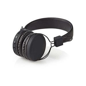nedis Draadloze hoofdtelefoon / Bluetooth(Rights reserved) / On-ear / Opvouwbaar / Zwart