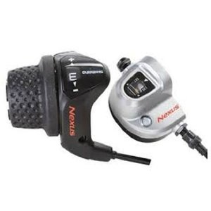 Shimano Shimano N3 SL-3S41e Shifter compleet met kabel en shiftbox (werkplaatsverpakking) kabel lengte 170cm