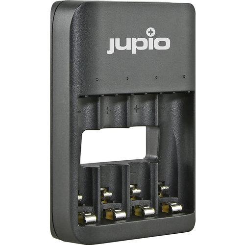 Jupio Jupio USB 4-slots Battery Charger LED