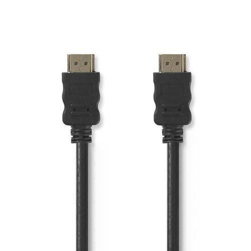 nedis High Speed HDMI -kabel met Ethernet / HDMI -connector - HDMI -connector / 15 m / Zwart