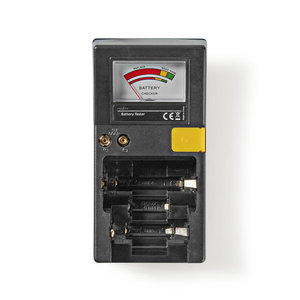 nedis Batterijtester | AAA-, AA-, C-, D-, 9V- en Knoopcelbatterijen