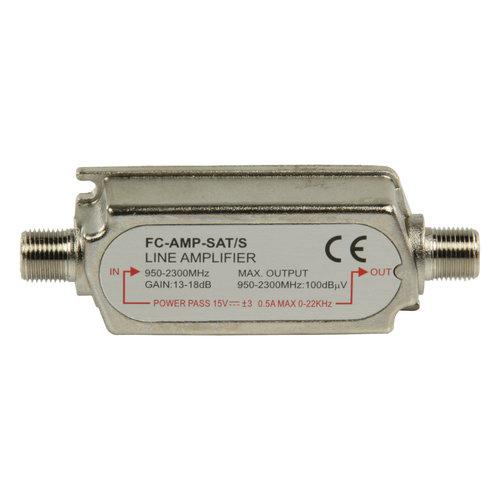 Fixapart Satelliet In-Line Versterker 18 dB 950-2300 MHz