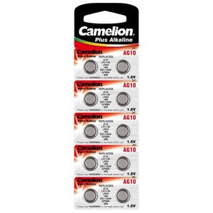 Camelion camelion Ag10 / Lr54 / 189 / 389 / Bls10 knoopcell