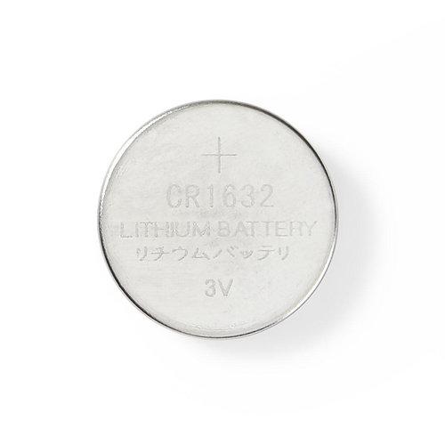 nedis Lithium knoopcel-batterij CR1632 / 3 V / 5 stuks / Blister