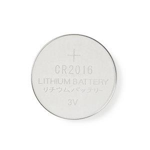 nedis Lithium knoopcel-batterij CR2016 / 3 V / 5 stuks / Blister