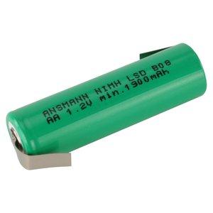 Ansmann Maxe 1,2V-2100MAH NIMH accu met soldeer lippen