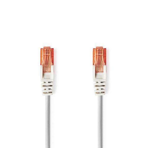 nedis Cat 6 UTP-Netwerkkabel / RJ45 (8P8C) male - RJ45 (8P8C) male / 15 m / Grijs