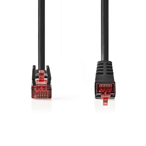 nedis CAT6 SF/UTP-Netwerkkabel / RJ45 Male - RJ45 Male / 1,0 m / Zwart
