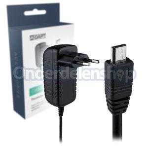 A-DAPT Thuislader tablet Micro USB A zwart