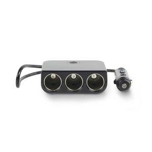 nedis Universele DC-voedingsadapter / 5/12 V DC / Autolader/USB / 3-weg