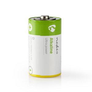nedis Alkaline batterij D / 1,5 V / 2 stuks / Blister