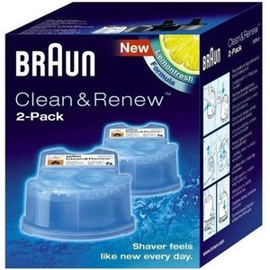 Braun Reiniger Clean & Renew cartridge 2x