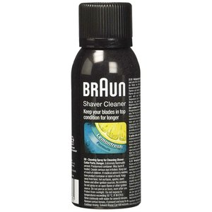 Braun Reiniger Shaver cleaner spray