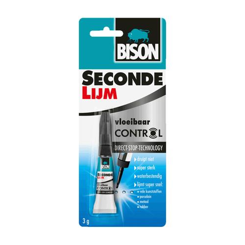 Bison bison sec.lijm vloeib.contr 3g