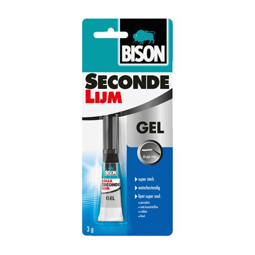 Bison bison sec.lijm gel 3gr
