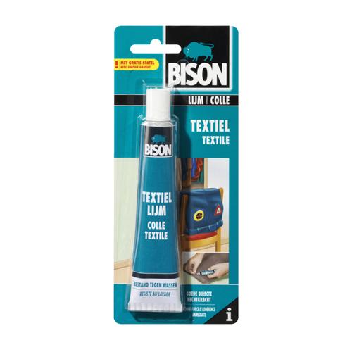 Bison bison textiellijm 50ml kaart