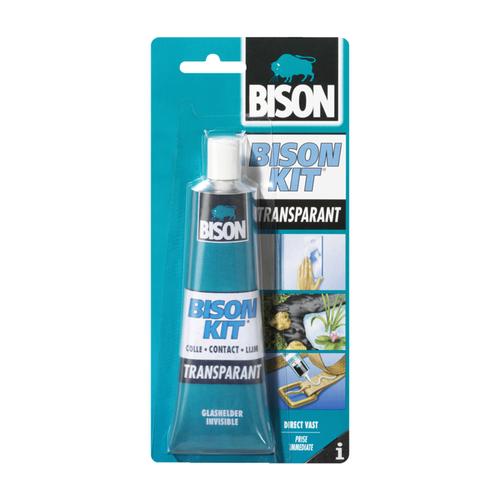 Bison bison-kit transparant 50ml kaart