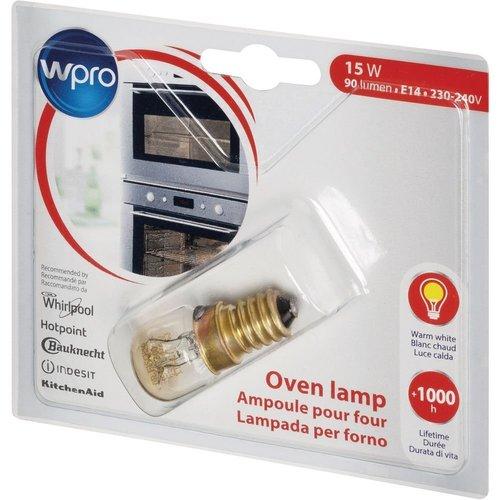 WPRO Lamp Ovenlamp-koelkastlamp 15W E14 T29