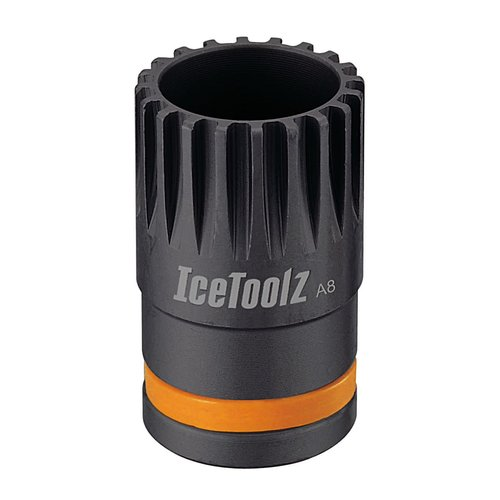 Icetoolz Lifu Bracket as de- en montage gereedschap, 20-tands Shimano / Isis drive compatibel